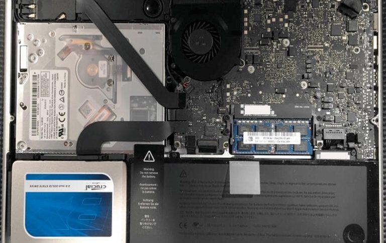 Macbook Pro HD vervangen