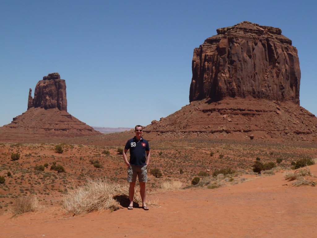 Ruud in Monument Valley